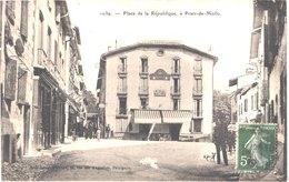 FR66 PRATS DE MOLLO - Brun 1039 - Place De La République - Animée - Belle - France