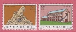 1993 ** (sans Charn., MNH, Postfrisch)  Yv  1266/7Mi  1316/7 - Luxemburg