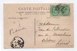 - Carte Postale BOMBAY (Inde Anglaise) Pour ORLÉANS (France / Loiret) 17.12.1904 - Vue De Marseille - - Inde (...-1947)