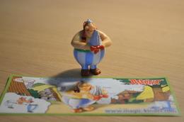 Kinder Astérix - 2009 - DE096 : Obélix + BPZ - MonoBlocks