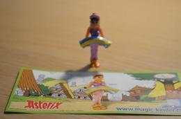 Kinder Astérix - 2009 - DE102 : Rahazade + BPZ - MonoBlocks