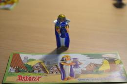 Kinder Astérix - 2009 - DE098 : Cléopâtre + BPZ - MonoBlocks