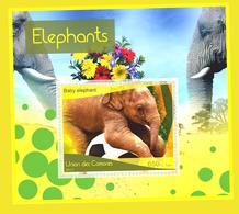 Fauna Stamp Elephants - Elefanti