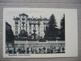 CLARENS-MONTREUX    -  HOTEL ROYAL        TTB - VD Vaud