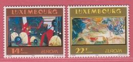 1993 ** (sans Charn., MNH, Postfrisch)  Yv  1268/9Mi  1318/9 - Luxemburg