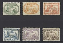 HONDURAS. YT PA  N° 154/159  Neuf **  1947 - Honduras