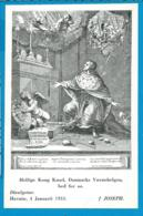 Holycard   St. King Knud V. Danmark - Andachtsbilder