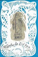Holycard   St. Leatus De Lié   Handmade Canivet   Gerlinde Nadge Belgium  78 - Devotion Images
