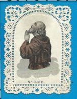 Holycard   St. Leudoin V. Toul - Devotion Images