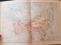 CARTE GEOGRAPHIQUE ANCIENNE: AFRIQUE (garantie Authentique. Epoque 19 ème Siècle) - Cartes Géographiques