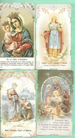 SALVARDI, CASA EDITRICE. CROMOLITO D'EPOCA.   N. 4 SANTINI -- USATI - Religione & Esoterismo