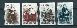1974 Netherlands Complete Set Child Welfare Used/gebruikt/oblitere - Periode 1949-1980 (Juliana)