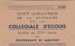 CARNET 12/8 CM Chef D'oeuvres De La Statuaire De La Collegiale D'ecouis..8 TIMBRES - Autres