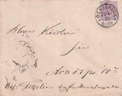ALLEMAGNE 1881 LETTRE DE OSNABRÜCK - Allemagne