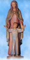 Troia (Foggia) - Santino Grande MARIA, NOSTRA SIGNORA DELLA SPERANZA Parrocchia Di San Secondino - PERFETTO P99 - Religione & Esoterismo