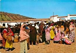 CPSM Maroc-Typique-Colorido Zoco Rural                       L2782 - Maroc