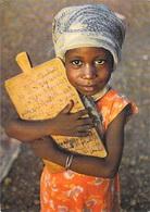 Afrique-CÔTE D'IVOIRE  Jeune Ivoirienne à L'école Coranique (Coran Religion Islam) *PRIX FIXE - Côte-d'Ivoire