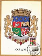 Algérie Carte 2 Volets 7e Foire Oran 15/10/60 - Algérie (1924-1962)