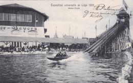 Carte Officielle De L'Exposition Universelle De Liège 1905 - Nels 166D - Water-Chute - Bayern - Expositions