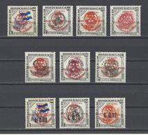 HONDURAS. YT   N° 207/216  Neuf *  1955 - Honduras