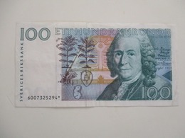 H-1100. SWEDEN 100 KR 1986 REPLACEMENT - Suède
