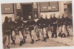 40119 -  China  Kan-sou -  Lan-Tcheou  Garde-civique - Chine