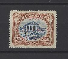 GUATEMALA. YT   N° 142a  Neuf Sans Gomme  (surcharge Rouge)  1909 - Guatemala
