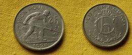 Luxembourg   2  Francs 1924  -paris- Km#36- L 280.1     Nickel   Charlotte - Luxembourg