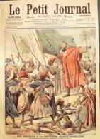 LE PETIT JOURNAL-1906-833-FRONTIERE ALGERO/MAROCAINE-CATASTROPHE De BIZERTE - Newspapers