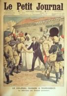 LE PETIT JOURNAL-1912-1140-MAROC Colonel MANGIN à MARAKECH-CATASTROPHE De La CLARENCE - Newspapers