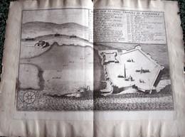 HISTORISCHE DEUSTCHE ALTE LANDCARTE - ABRIS DER VESTUNG  TRIPOLI IN BARBARIEN (1691) - Cartes