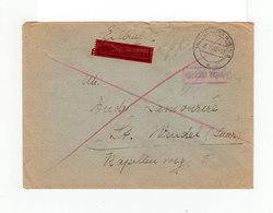 Enveloppe Eilbrief. Durche Eilboten. Lettre Exress. CAD Ludwigshafen 1946. CAD Destination Wendel Saar. (1090) - Allemagne