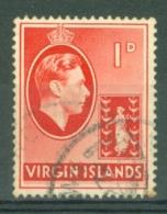 British Virgin Is: 1938/47   KGVI   SG111a   1d   Used - British Virgin Islands