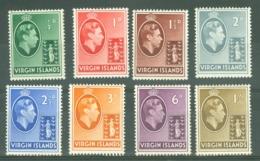 British Virgin Is: 1938/47   KGVI To 1/-  MH - British Virgin Islands