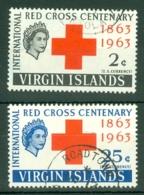 British Virgin Is: 1963   Red Cross    Used - British Virgin Islands