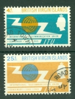 British Virgin Is: 1965   I.T.U. Centenary    Used - British Virgin Islands