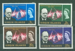 British Virgin Is: 1966   Churchill   MH - British Virgin Islands