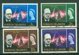 British Virgin Is: 1966   Churchill   Used - British Virgin Islands