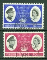 British Virgin Is: 1966   Royal Visit   Used - British Virgin Islands