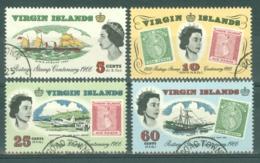British Virgin Is: 1966   Stamp Centenary   Used - British Virgin Islands