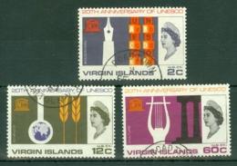 British Virgin Is: 1966   U.N.E.S.C.O.   Used - British Virgin Islands