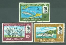 British Virgin Is: 1967   Inauguration Of Bermuda-Tortola Telephone Service   Used - British Virgin Islands