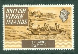 British Virgin Is: 1970/74   QE II - Ships  SG240   ½c   MH - British Virgin Islands