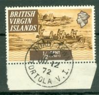 British Virgin Is: 1970/74   QE II - Ships  SG240   ½c   Used - British Virgin Islands