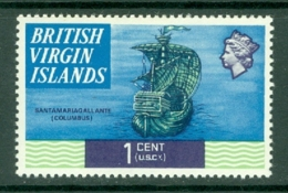 British Virgin Is: 1970/74   QE II - Ships  SG241   1c   MH - British Virgin Islands