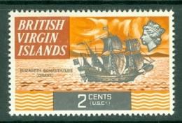 British Virgin Is: 1970/74   QE II - Ships  SG242   2c   MH - British Virgin Islands