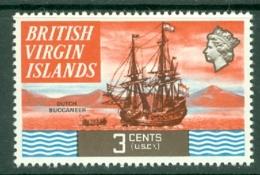 British Virgin Is: 1970/74   QE II - Ships  SG243   3c   MH - British Virgin Islands