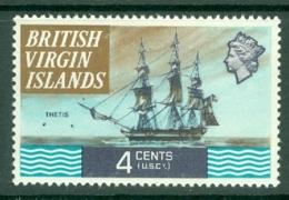 British Virgin Is: 1970/74   QE II - Ships  SG244   4c   MH - British Virgin Islands