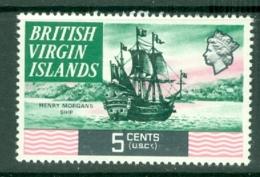 British Virgin Is: 1970/74   QE II - Ships  SG245   5c   MH - British Virgin Islands