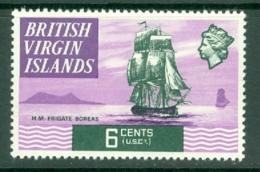 British Virgin Is: 1970/74   QE II - Ships  SG246   6c   MH - British Virgin Islands